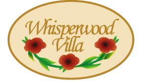 Whisperwood Villa logo